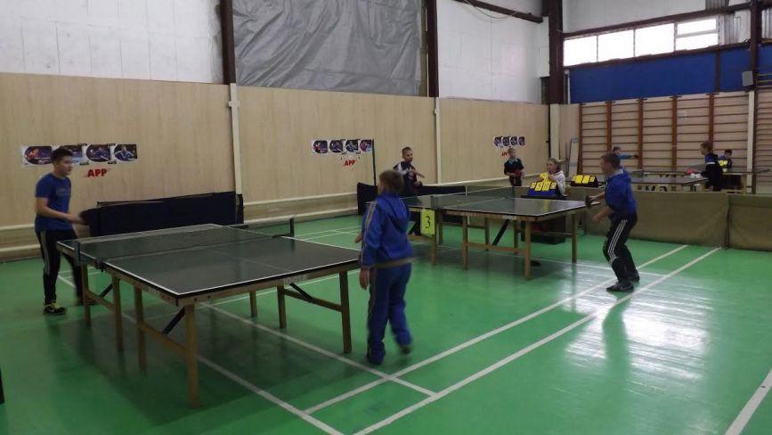 У Житомирі відбулися обласні змагання з настільного тенісу. Фото