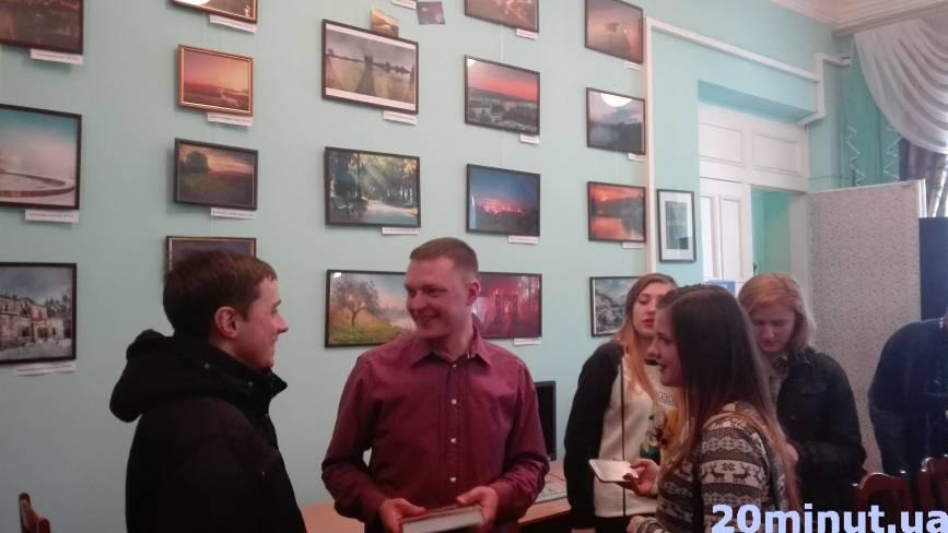 Житомирський фотограф Ярослав Веретін презентував роботи, які мають власну енергію