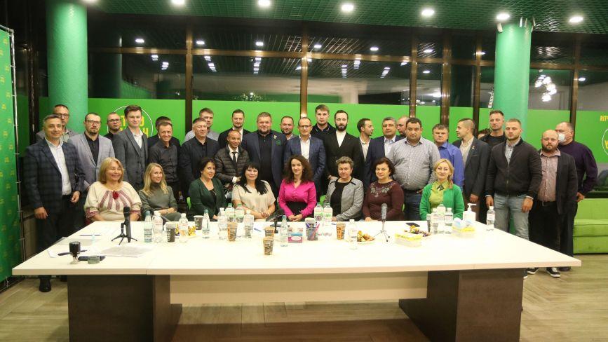 Житомирський обласний осередок «Слуги Народу» визначився з кандидатами на місцеві вибори (Політична реклама)