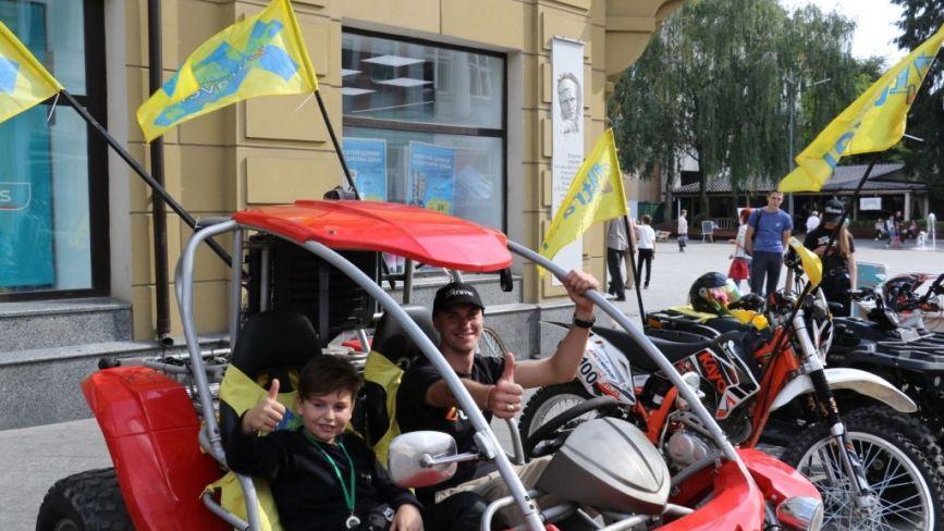 На Михайлівській у Житомирі розпочалися заходи до Дня туризму
