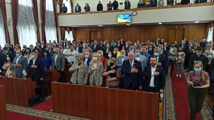 У Житомирі розпочалася сесія обласної ради. Фоторепортаж