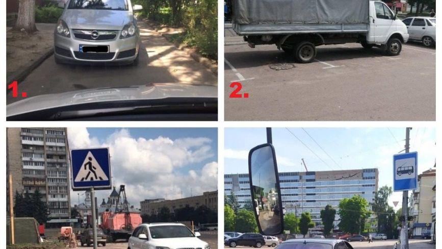 «Автогерої» тижня: головні порушники ПДР у Житомирі