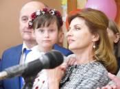 На свято останнього дзвоника у Житомирі завітала дружина Президента Марина Порошенко (ФОТО)