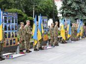 З нагоди Дня Героїв у Житомирі відкрили Дошки пам'яті 66 Героям, які загинули внаслідок війни на Сході України