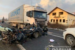 На Мукачівщині сталася жахлива аварія з п'ятьма загиблими за участю житомирянина