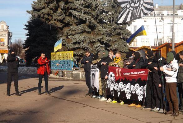 У Житомирі розпочались протестні акції проти затримання Юрія Хорта