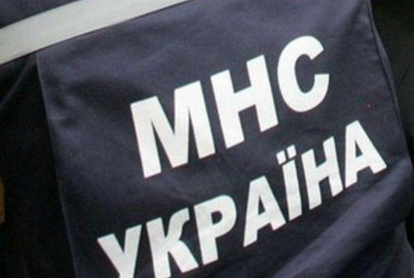 На Житомирщині рятувальники витягнули вантажівку зі снігового замету
