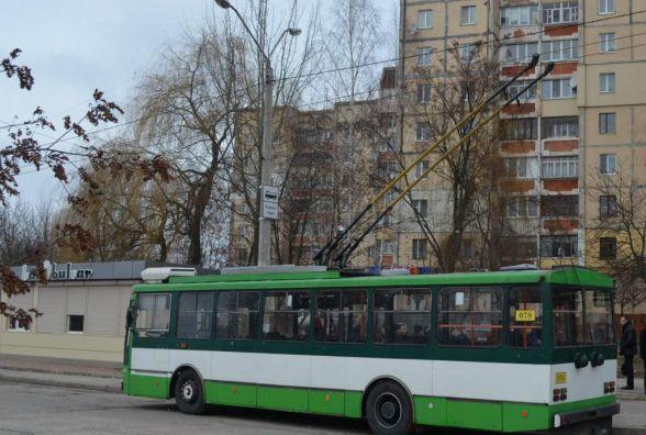 У Житомирі стартував новий тролейбусний маршрут на Малікова