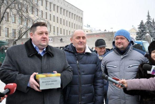 Флешмоб від голови Житомирської облдержадміністрації Ігоря Гундича - 22 тонни пального для Авдіївки