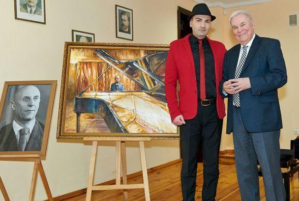 У Житомирі на полотні втілили мрію легендарного композитора Задерацького
