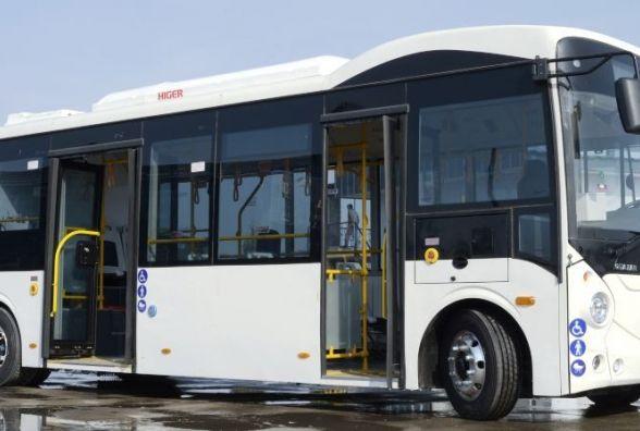 Житомир планує закупити 2 китайські електробуси за 10 мільйонів гривень