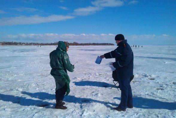 Рятувальники Житомирщини попереджають: обережно, тонкий лід!!!