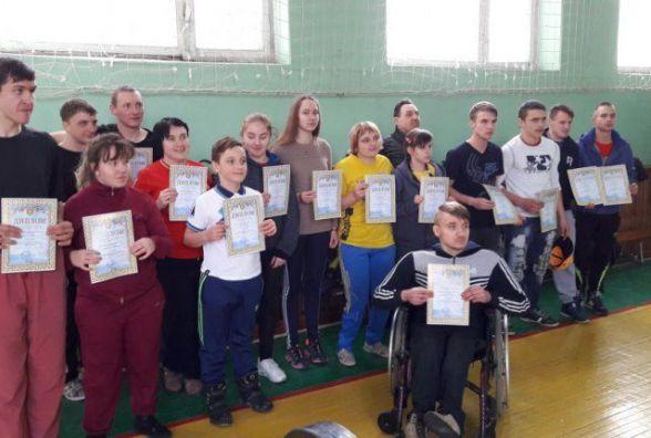 На Житомирщині відбувся чемпіонат області з пауерліфтингу серед осіб з ураженнями опорно-рухового апарату та вадами зору