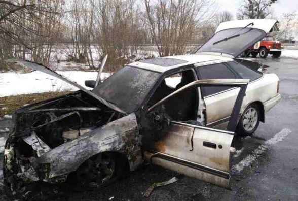За добу на Житомирщині рятувальники двічі гасили загоряння легкових автомобілів