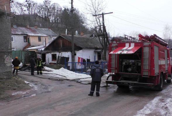 У Житомирі під час пожежі у багатоквартирному будинку загинуло двоє людей