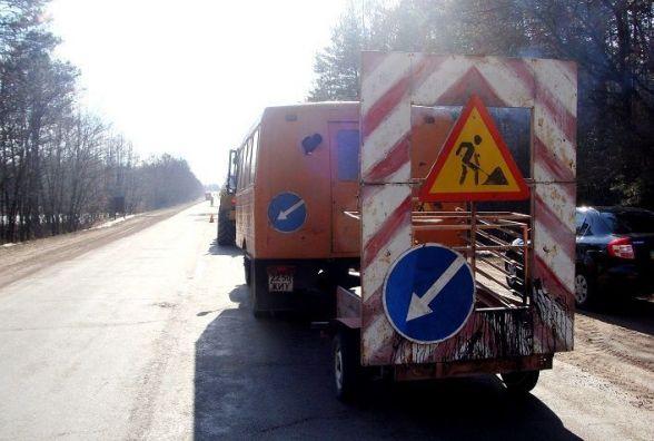 На Житомирщині за минулий тиждень відремонтували понад 6 тисяч квадратних метрів доріг