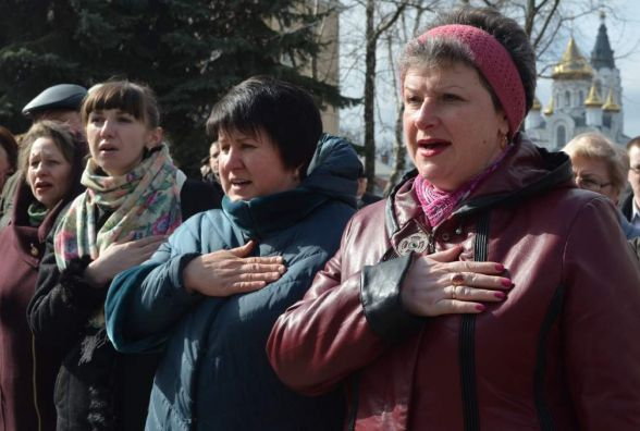Житомиряни відзначили 100-річчя Української революції