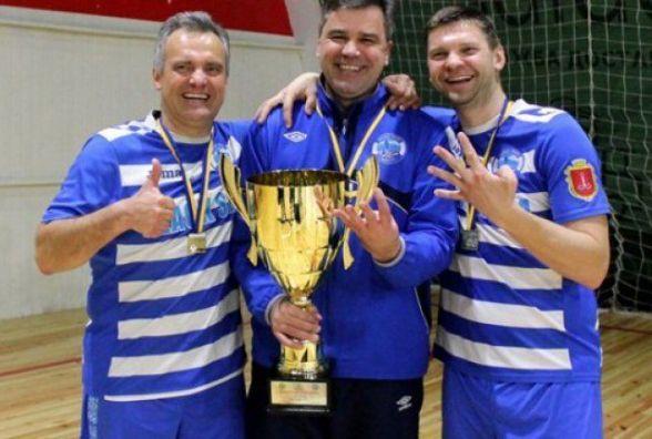 Стали відомі результати Чемпіонату України з футзалу серед ветеранів