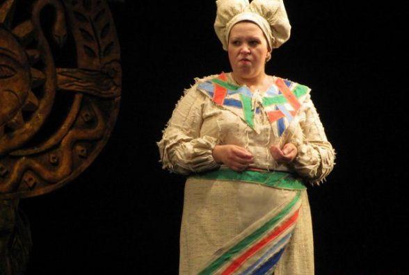 Артистка Житомирського облмуздрамтеатру отримала почесне звання