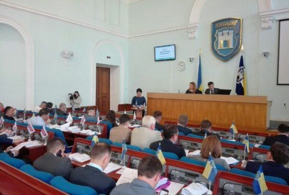 Житомирські депутати вимагатимуть скасування постанови Кабміну про щоквартальний перегляд цін на газ