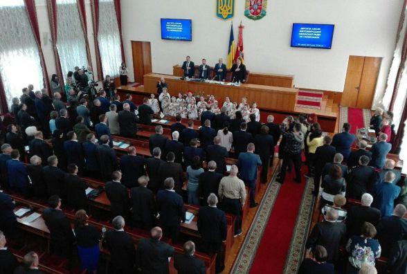 Розпочала роботу 10-та сесія Житомирської обласної ради