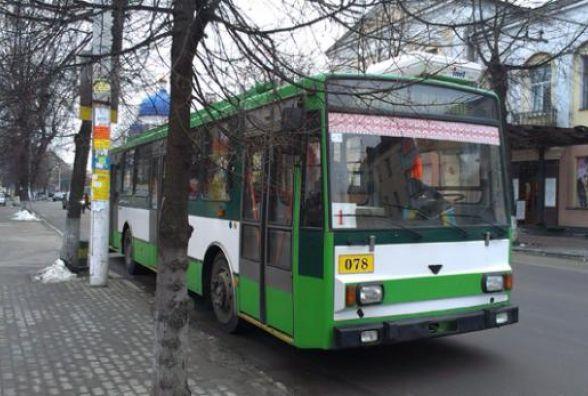 На Великдень у Житомирі продовжать роботу транспорту
