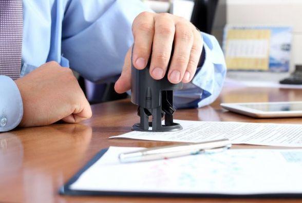 Використання печаток на документах стане необов'язковим через три місяці