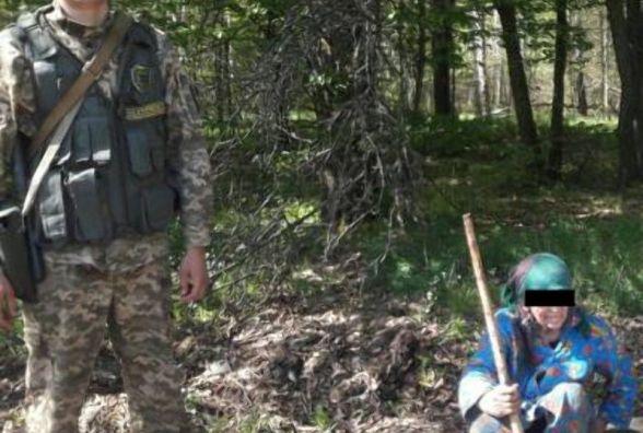 Зниклу на Житомирщині жінку розшукали прикордонники