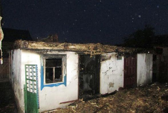 На Житомирщині під час пожежі у літній кухні загинула жінка
