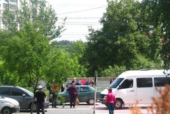 У Житомирі водій збив дитину на пішохідному переході. ФОТО