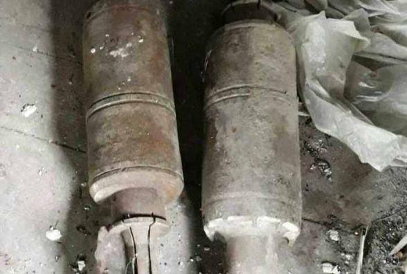 Небезпечна знахідка: на Житомирщині жінка знайшла на присадибній ділянці 2 артилерійські снаряди