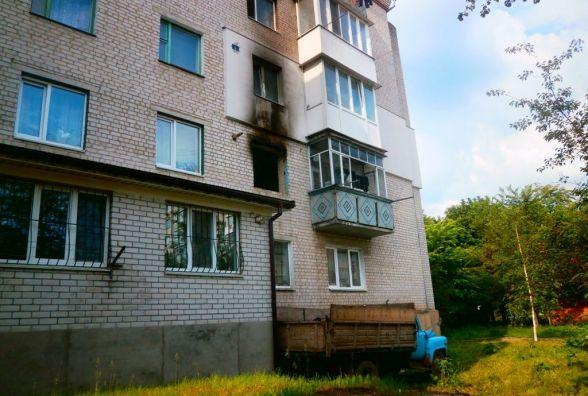 У Бердичеві під час пожежі у багатоповерхівці опіки отримали двоє людей