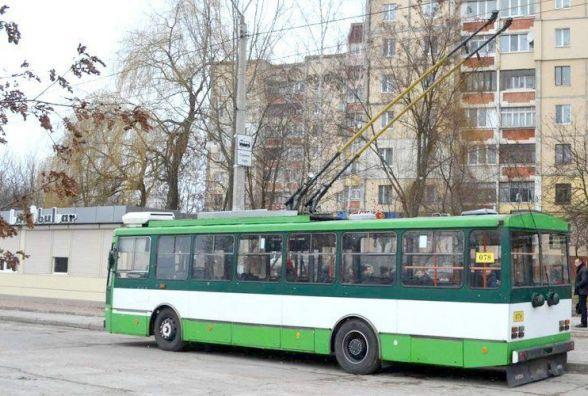 У Житомирі продовжили маршрут тролейбусу № 7