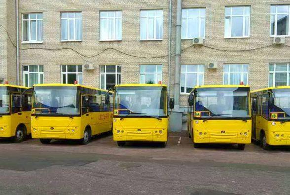 Для шкіл Житомирщини закупили 5 автобусів