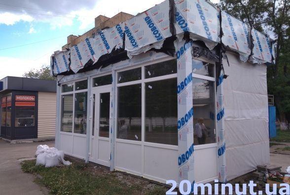 Житомирський виконком не скасував паспорт прив'язки на скандальну тимчасову споруду (МАФ)