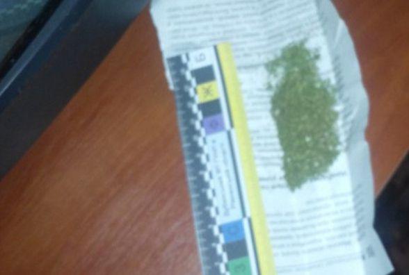 В автомобілі звягельчанина поліція виявила наркотики