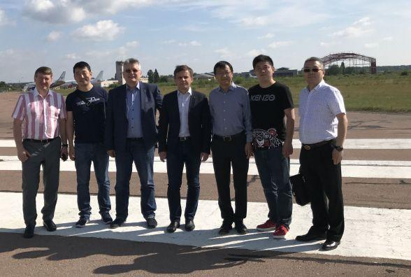 Китайці готові інвестувати в житомирський аеропорт 10 мільйонів доларів