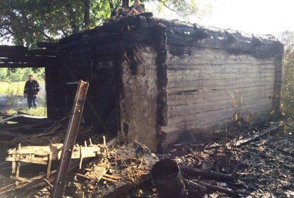 Вогнеборці ліквідували пожежу в пустуючому будинку