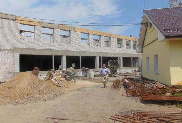 У Житомирі продовжується будівництво нового корпусу гімназії №3