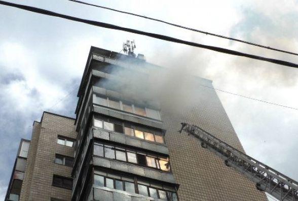У Житомирі горіла квартира в 14- поверховому будинку