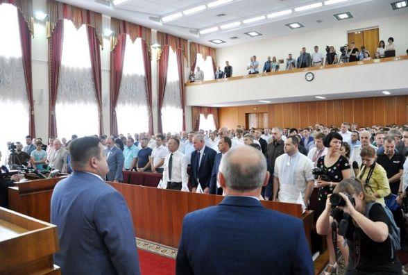 Рідним померлого військового капелана Андрія Виноградського вручили орден