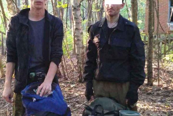 Житомирські прикордонники затримали двох білорусів, які намагалися потрапити до Чорнобильської зони