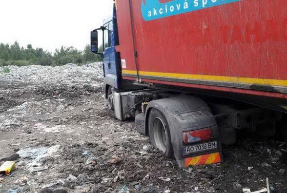 На Житомирщині знову виявили львівське сміття