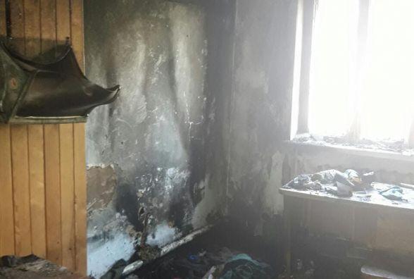 На Житомирщині  під час пожежі у дерев`яному будинку загинув чоловік