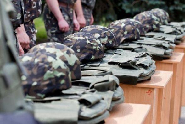 Юнаків Житомирщини призвали на службу До Нацгвардії