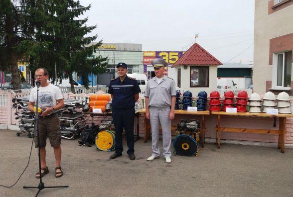 Житомирщина: рятувальники отримали гуманітарну допомогу від норвезьких благодійників
