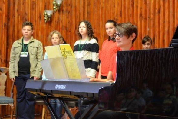 Відвідайте гала-концерт учасників п'ятиденного музичного табору