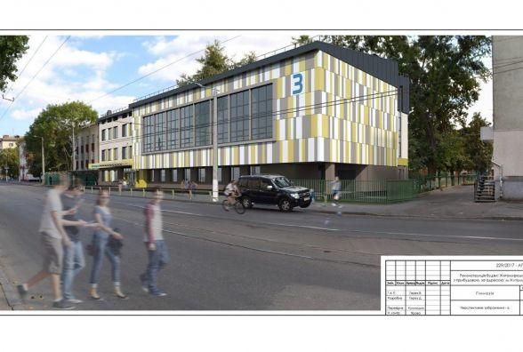 Будівництво сучасного корпусу гімназії № 3 буде завершено у наступному році