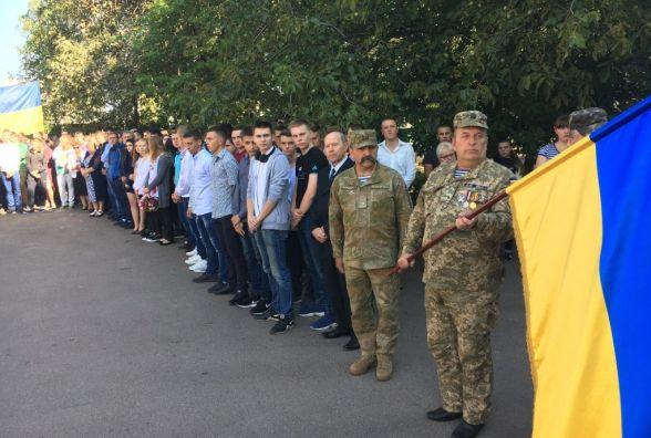 У Житомирі відкрили меморіальну дошку учаснику АТО Віталію Ступаку