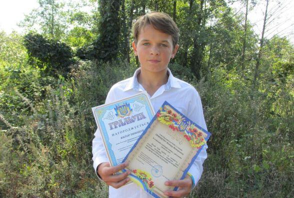 Нагородили підлітка, який проявив героїзм під час літніх канікул